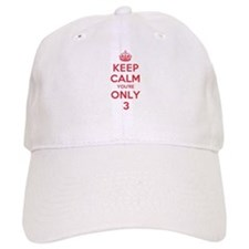 K C Youre Only 3 Baseball Cap
