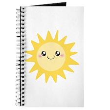 Cute happy sun Journal