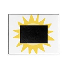 Cute happy sun Picture Frame