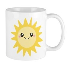 Cute happy sun Mug