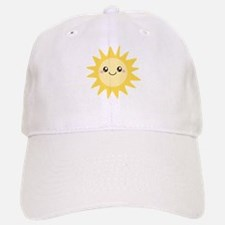 Cute happy sun Baseball Baseball Cap