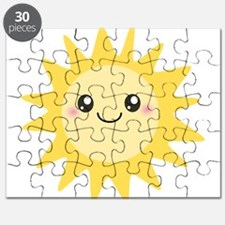 Cute happy sun Puzzle