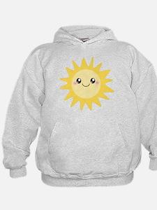 Cute happy sun Hoodie