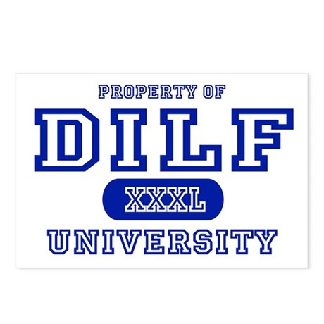 DILF University Postcards (Package of 8)