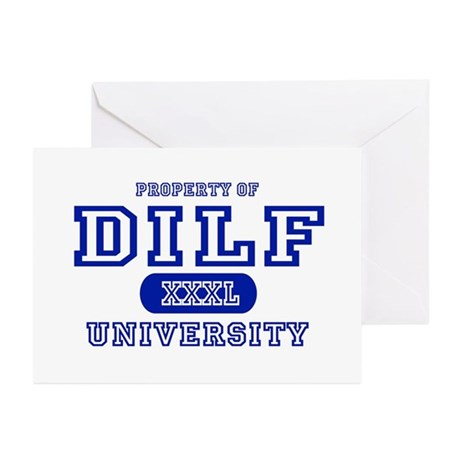 DILF University Greeting Cards (Pk of 10)