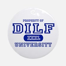 DILF University Ornament (Round)