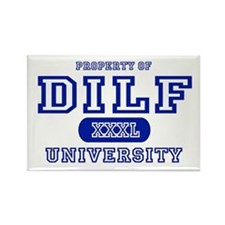DILF University Rectangle Magnet