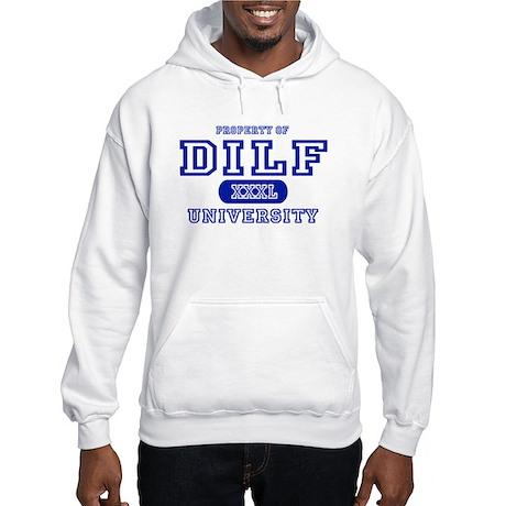 DILF University Hooded Sweatshirt