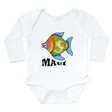 Maui Long Sleeve Infant Bodysuit