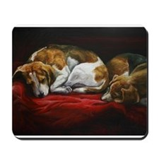 Sleeping Beagles Mousepad