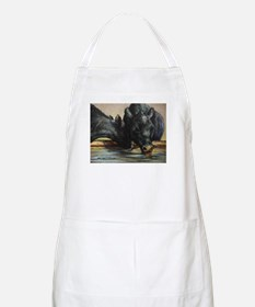 Two Black Angus Apron