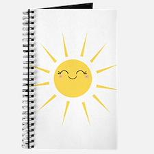Kawaii smiley sun Journal