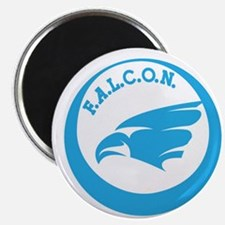 Falcon Logo Blue Magnet