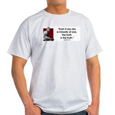 Even if Ash Grey T-Shirt