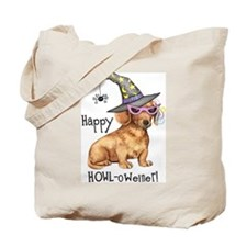 Halloween Dachshund Tote Bag