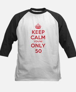 K C Youre Only 50 Kids Baseball Jersey