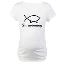 Darwinning Evolution Darwin Fish Shirt