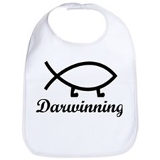 Darwinning Evolution Darwin Fish Bib
