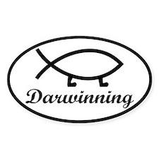 Darwinning Evolution Darwin Fish Decal