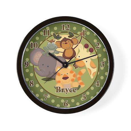 Jungle Safari Bryce Wall Clock