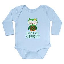Bipolar Support Owl Long Sleeve Infant Bodysuit