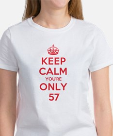 K C Youre Only 57 Tee