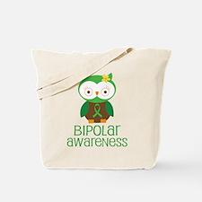 Bipolar Awareness (Owl) Tote Bag