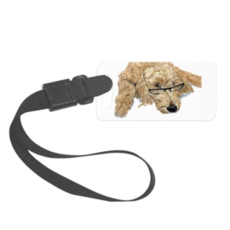 Goldendoodle Stella Small Luggage Tag