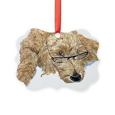 Goldendoodle Picture Ornament