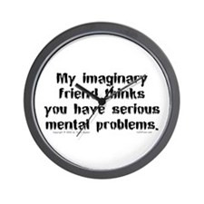 Imaginary Friend Wall Clock