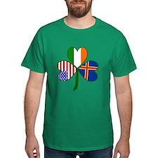 Aaland Islands Shamrock T-Shirt