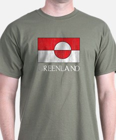Retro Greenland Flag T-Shirt
