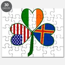 Shamrock of African America Puzzle