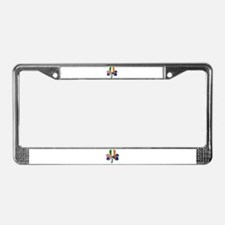 Shamrock of African America License Plate Frame