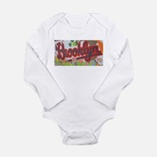 Brooklyn - Red Road to Mars Long Sleeve Infant Bod