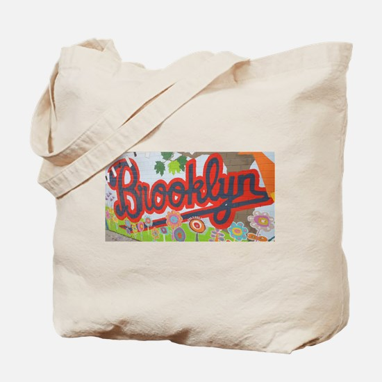Brooklyn - Red Road to Mars Tote Bag