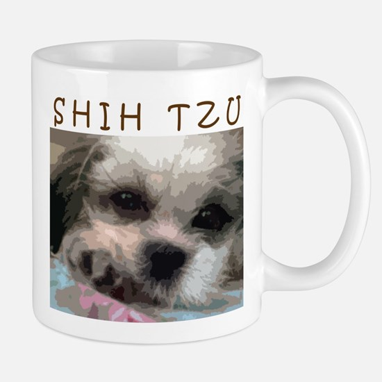Shih Tzu Art Mugs