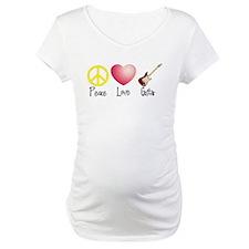 Peace, Love, Guitar Shirt