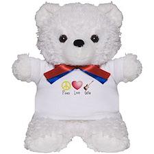 Peace, Love, Guitar Teddy Bear