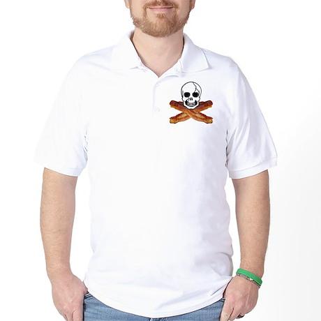 Bacon Skull Golf Shirt