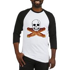 Bacon Skull Baseball Jersey