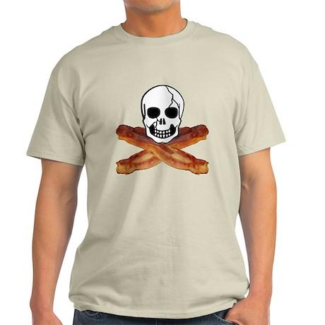 Bacon Skull Light T-Shirt