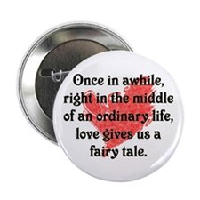 "Fairy Tale Love 2.25"" Button (10 pack)"