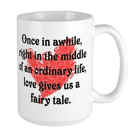 Fairy Tale Love Large Mug