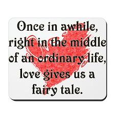 Fairy Tale Love Mousepad