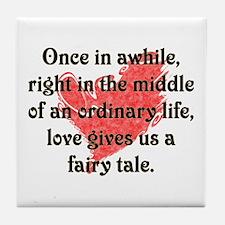 Fairy Tale Love Tile Coaster