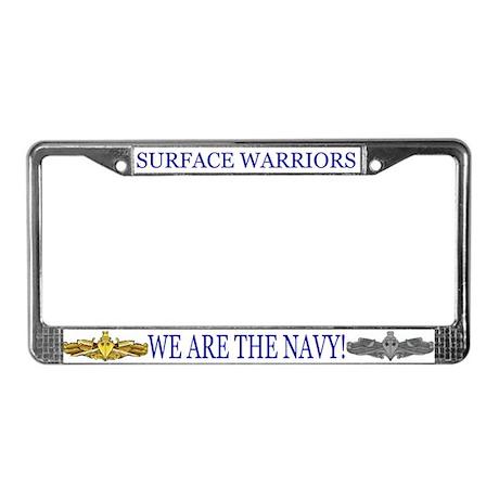 SWO/ESWS License Plate Frame
