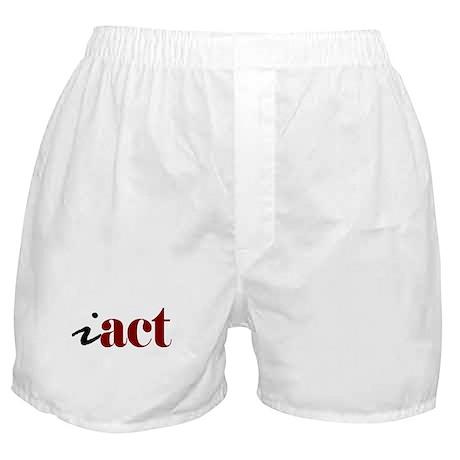 """I """"Act"""" Boxer Shorts"""