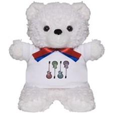 Guitar Graphic Teddy Bear