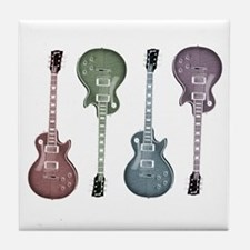 Guitar Graphic Tile Coaster